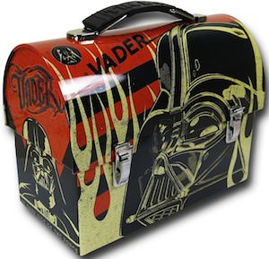 Darth Vader lunch box for Star Wars fans