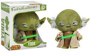 Star Wars Fabrikations Yoda Plush