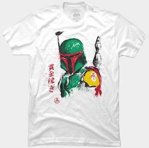 Star Wars Boba Fett Art T-Shirt