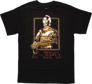 Star Wars 3-CPO t-shirt
