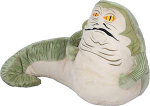 Star Wars plush of Jabba the Hutt