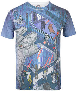 Star Wars t-shirt's