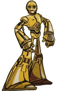 Star Wars Animated C3PO Patch
