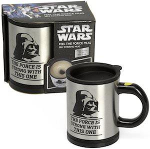 Star Wars Darth Vader Self Stirring travel Mug