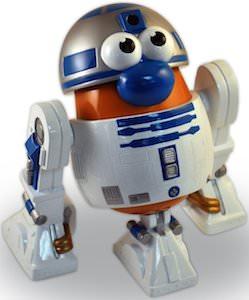 R2-D2 Mr. Potato Head action figure