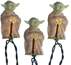 Star Wars Yoda String Lights
