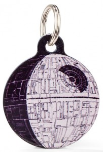 Death Star Pet Identification Tag