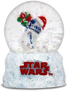 Festive Snow Globe With R2-D2