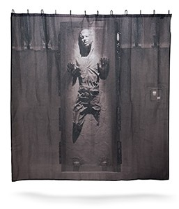 Frozen Han Solo Shower Curtain
