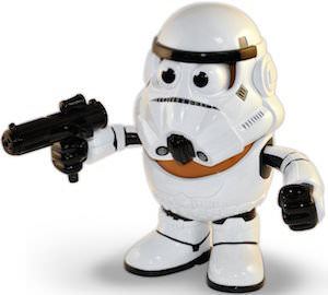 Star Wars Spud trooper Mr. Potato Head Toy