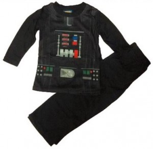 Boys Darth Vader 2 Piece Pajama Set