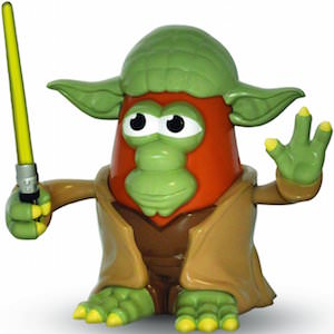 Star Wars Yoda Mr. Potato Head Action Figure
