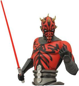 Star Wars Darth Maul Bust Banks