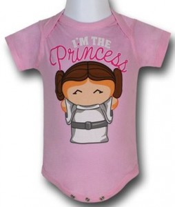 Princess Leia Baby Bodysuit