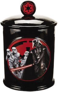 Star Wars Darth Vader And Stormtroopers Cookie Jar