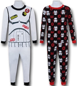 Kids 4 Piece Star Wars Pajama Set