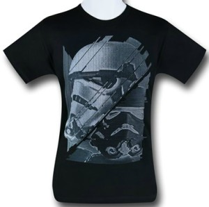Kids Stormtrooper Glitchy T-Shirt