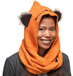 Ewok Hooded Scarf