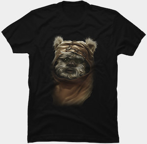 Ewok Portrait T-Shirt