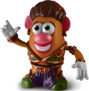 Princess Leia Mrs. Potato Head Toy