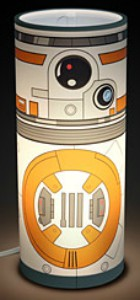 BB-8 Cylindrical Desk Lamp