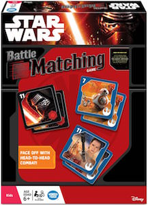Star Wars Battle Matching Game