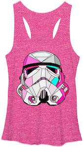 Pink Stormtrooper Tank Top