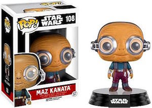 Maz Kanata Vinyl Bobblehead Figurine