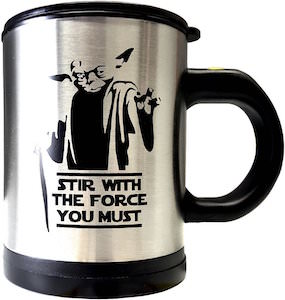 Star Wars Yoda Self Stirring Mug
