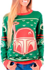 Boba Fett Ugly Christmas sweater