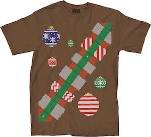 Chewbacca Christmas Costume T-Shirt