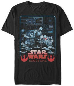 Rogue One Blueprint T-Shirt