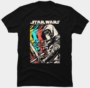 Kylo Ren Shadows T-Shirt