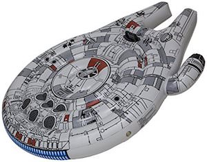 Giant Millennium Falcon Pool Float