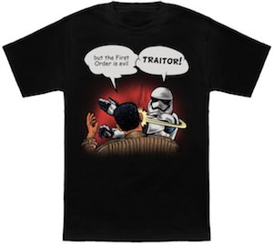 Stormtrooper Hit's Finn T-Shirt