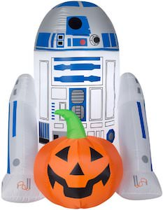 Halloween R2-D2 Outdoor Inflatable