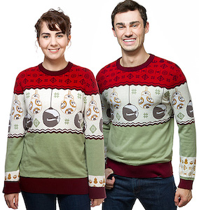 BB-8 And Starkiller Base Christmas sweater
