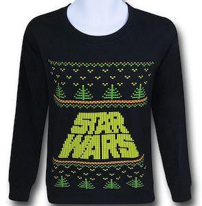 8 Bit Logo Christmas sweater
