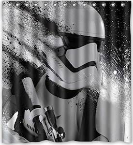 Stormtrooper Ready To Fight Shower Curtain