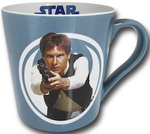 Han Solo Pointing His Gun Mug