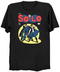 Star Wars Solo Comic T-Shirt