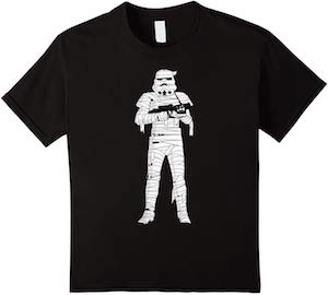 Kids Stormtrooper Mummy T-Shirt