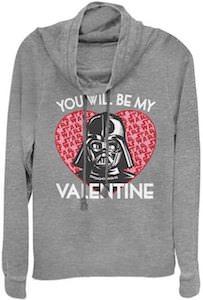 Women's Darth Vader Valentine Sweatshirt
