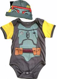 Star Wars Boba Fett Bodysuit And Hat
