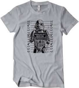 Stormtrooper Mugshot T-Shirt