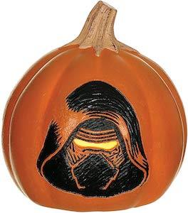 Kylo Ren Pumpkin With Light