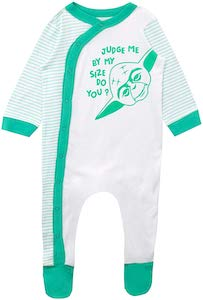 Judge Yoda By Size Baby Bodysuit