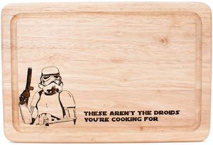 Stormtrooper Cutting Board