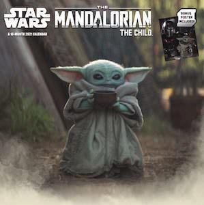 2021 The Mandalorian The Child Wall Calendar