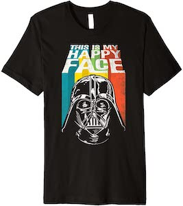 Darth Vader This Is My Happy Face T-Shirt
